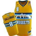 Denver Nuggets - Maillot NBA Danilo Gallinari 8 Jaune