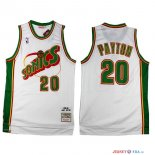 Seattle Supersonics - Maillot NBA Gary Payton 20 Retro Blanc