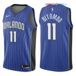 Orlando Magic - Maillot NBA Bismack Biyombo 11 Bleu Icon 2017/2018