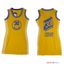 Golden State Warriors - Maillot Femme NBA Stephen Curry 30 Jaune