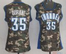 2013 Camouflage Fashion - Maillot Femme NBA Kevin Durant 35