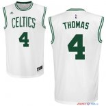 Boston Celtics - Maillot NBA Isaiah Thomas 4 Blanc