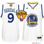 Golden State Warriors - Maillot NBA Iguodala 9 Blanc Finales