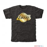 Los Angeles Lakers - T-Shirt NBA Noir Or