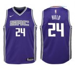 Sacramento Kings - Maillot Junior NBA Buddy Hield 24 Pourpre Icon 2018