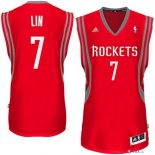 Houston Rockets - Maillot NBA Jeremy Lin 7 Rouge