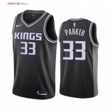 Sacramento Kings-Maillot NBA Jabari Parker 33 Noir Statement 2019/2020