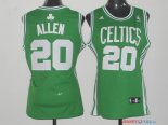 Boston Celtics - Maillot Femme NBA Ray Allen 20 Vert