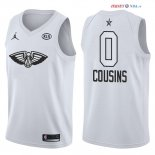 2018 All Star - Maillot NBA DeMarcus Cousins 0 Blanc
