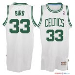 Boston Celtics - Maillot NBA Larry Joe 33 Bird Blanc