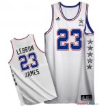 2015 All Star - Maillot NBA LeBron James 23 Blanc