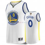 Golden State Warriors - Maillot NBA Demarcus Cousins 0 Blanc Retro Association 2019 Finales Champions