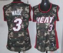 2013 Camouflage Fashion - Maillot Femme NBA Wade 3