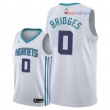 Charlotte Hornets - Maillot NBA Miles Bridges 0 Blanc Association 2018