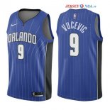 Orlando Magic - Maillot NBA Nikola Vucevic 9 Bleu Icon 2017/2018