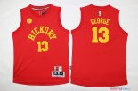 Indiana Pacers - Maillot Junior NBA Paul George 13 Rouge