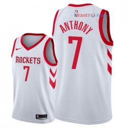Houston Rockets - Maillot NBA Carmelo Anthony 7 Blanc Association 2018