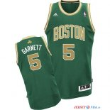 Boston Celtics - Maillot NBA Kevin Garnett 5 Vert Or