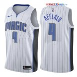 Orlando Magic - Maillot NBA Arron Afflalo 4 Blanc Association 2017/2018
