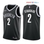 Brooklyn Nets - Maillot NBA Akil Mitchell 2 Noir Icon 2017/2018