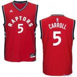 Toronto Raptors - Maillot NBA DeMarre Carroll 5 Rouge