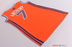 New York Knicks - Maillot Femme NBA Carmelo Anthony 7 Orange