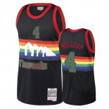 Denver Nuggets - Maillot NBA Paul Millsap 4 Noir 2018 Noël