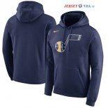 Utah Jazz - Sweat Capuche NBA Marine