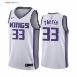 Sacramento Kings-Maillot NBA Jabari Parker 33 Blanc Association 2019/2020