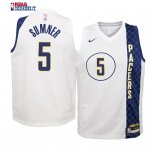 Indiana Pacers - Maillot Junior NBA Edmond Sumner 5 Blacno Ville 2019-20