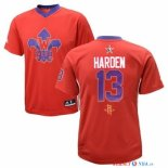 2014 All Star - Maillot NBA James Harden 13 Rouge