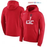 Washington Wizards - Sweat Capuche NBA Rouge