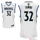 Minnesota Timberwolves - Maillot NBA Karl Anthony 32 Towns Blanc
