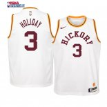Indiana Pacers - Maillot Junior NBA Aaron Holiday 3 Retro Blanc
