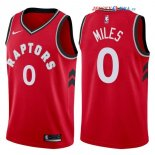 Toronto Raptors - Maillot NBA CJ Miles 0 Rouge Icon 2017/2018