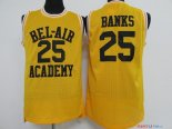 Film Basket-Ball- Maillot NBA Banks 25 Jaune Air Academy