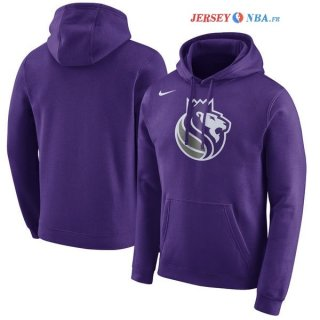 Sacramento Kings - Sweat Capuche NBA Pourpre