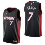 Miami Heat - Maillot NBA Goran Dragic 7 Noir Icon 2017/2018
