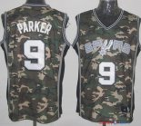 2013 Camouflage Fashion - Maillot NBA Parker 9