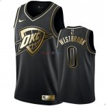 Oklahoma City Thunder - Maillot NBA Russell Westbrook 0 Or Edition