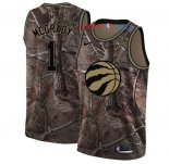 Toronto Raptors - Maillot NBA Tracy Mcgrady 1 Camo Swingman Collection Realtree 2018