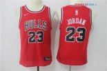 Chicago Bulls - Maillot Junior NBA Michael Jordan 23 Rouge Icon