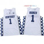 Kentucky - Maillot NCAA Devin Booker 1 Blanc