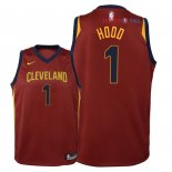 Cleveland Cavaliers - Maillot Junior NBA Rodney Hood 1 Rouge Icon 2018