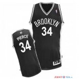 Brooklyn Nets - Maillot NBA Paul Pierce 34 Noir
