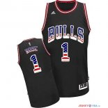 USA Flag Special Edition - Maillot NBA Rose 1 Noir