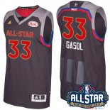 2017 All Star - Maillot NBA Marc Gasol 33 Charbon