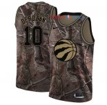 Toronto Raptors - Maillot NBA DeMar DeRozan 10 Camo Swingman Collection Realtree 2018