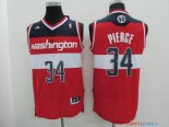 Washington Wizards - Maillot NBA Paul Pierce 34 Rouge