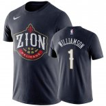 New Orleans Pelicans-T-Shirt NBA Zion Williamson Marine